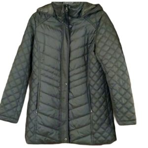 Marc New York olive green light quilted jacket…